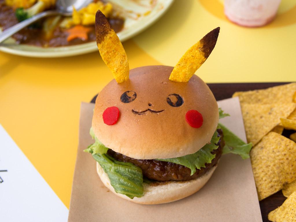 ... burger! | PIKACHU,...