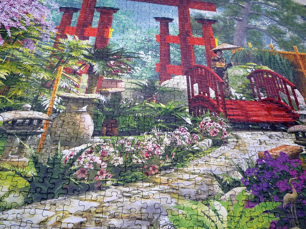 Japan Garden Dominic Davison Educa puzzle 2014 3000 p Flickr