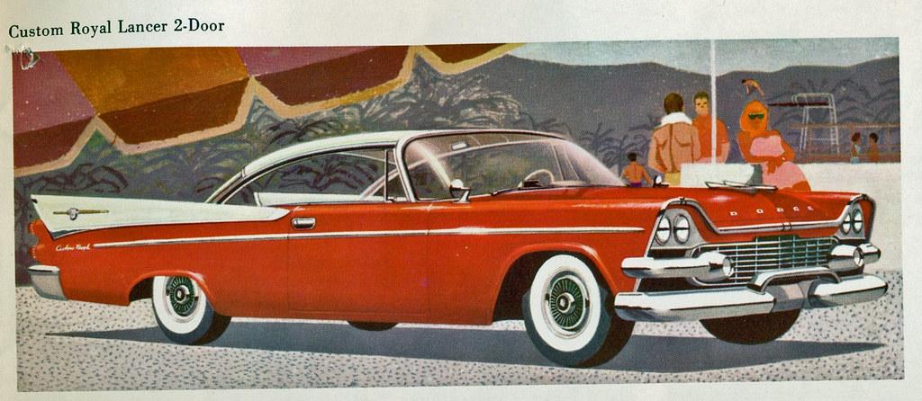 1958 Dodge Custom Royal Lancer 2 Door Hardtop Coconv