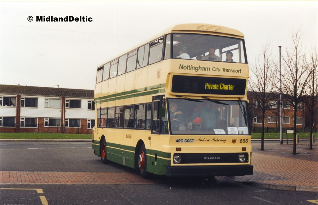 Nct 666 Bulwell Bus Station 27 11 1999 A Final Shot Of