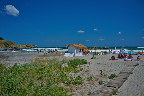 Пляж Нестинарка. Город Царево. Nestinarka beach, Tsarevo, Bulgaria