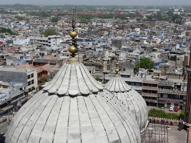 Delhi desde lo alto de un minarete de Jama Masjid