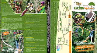 Brochure Flying Squirrels Zipline Chiang Mai Thailand 01