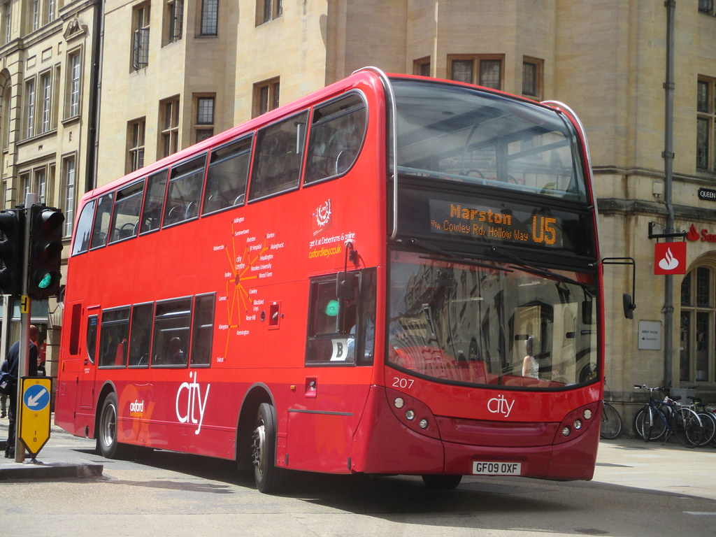 Oxford bus company 207 oxford bus company 207 gf09 oxf for Time table bus 99