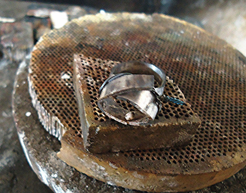 Soldering One Ring Into Another Ring