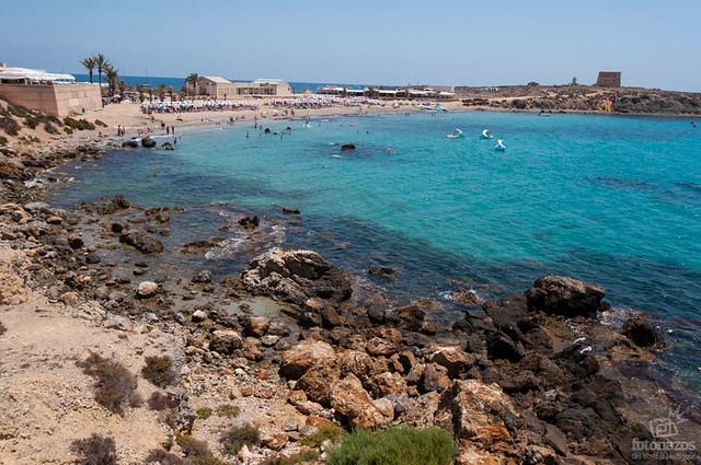 La playa de la isla de tabarca fotonazos viajes y - Alojamiento en isla de tabarca ...