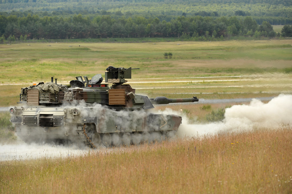 M1a2 Tank Gunnery At Grafenwoehr During Combined Resolve I