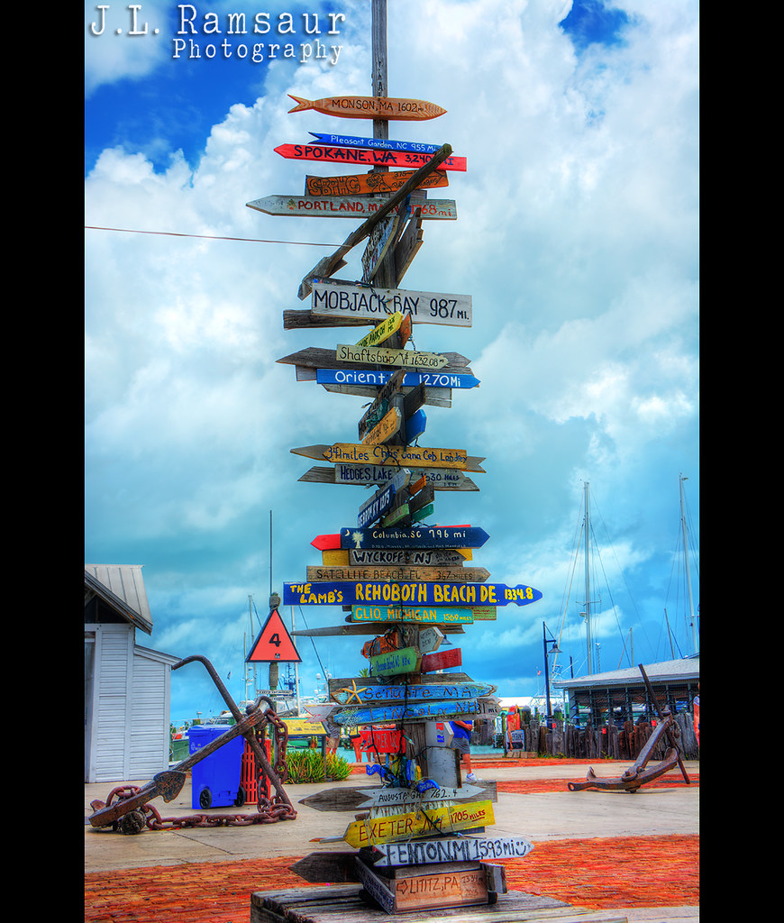 Directional Sign Post Key West Florida I Have Always