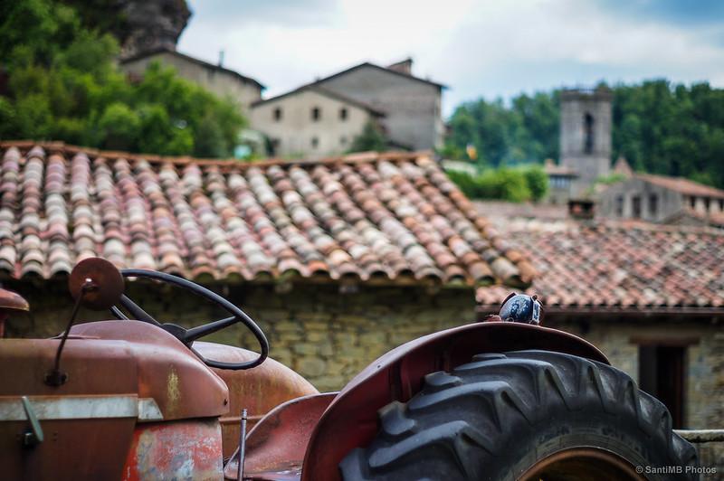 Tractor y tejados