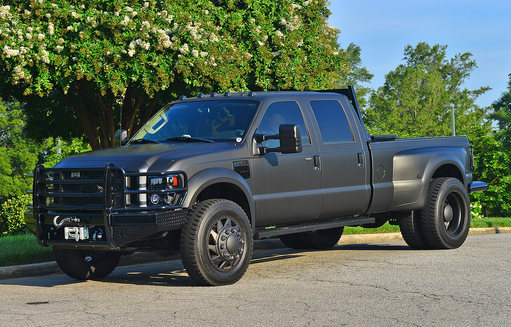 Ford Greenville Sc >> Blacked out Ford F-450 Super Duty | At the July Upstate Sout… | Flickr