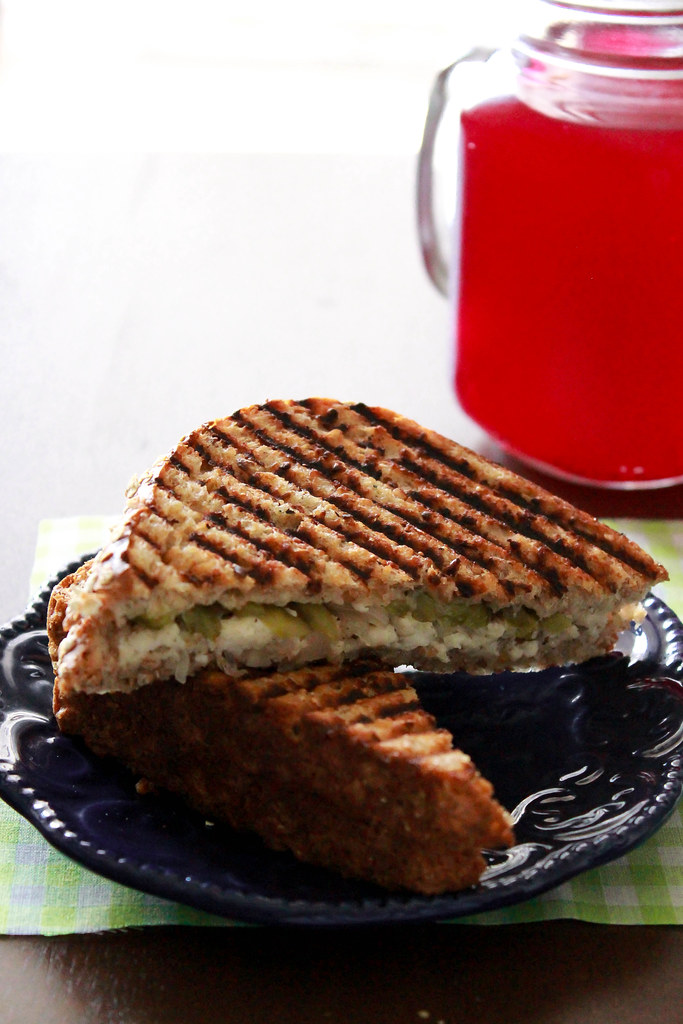 SPICY GRILLED PANEER SANDWICH