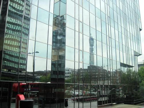 Bus Ride to Marylebone, City Reflection
