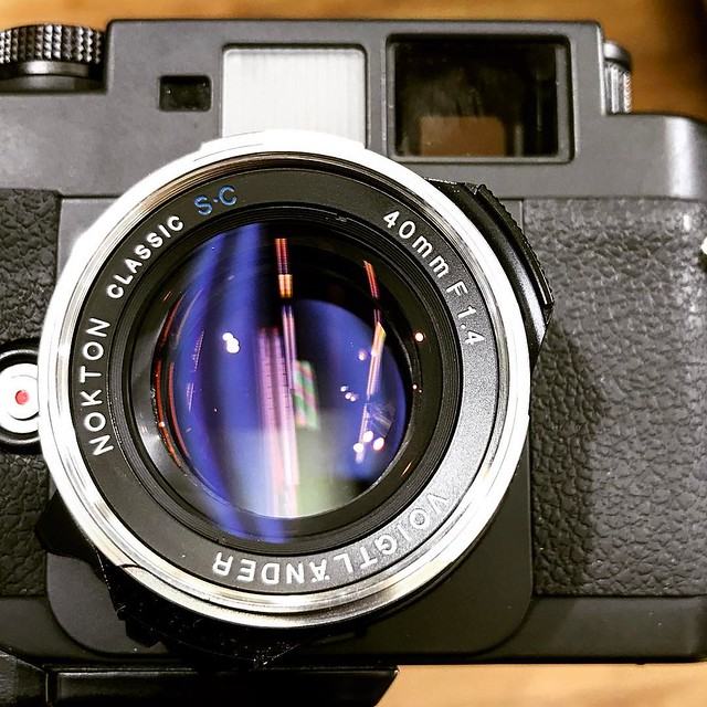 Voigtlander 40mm f1.4 SC 單膜感覺