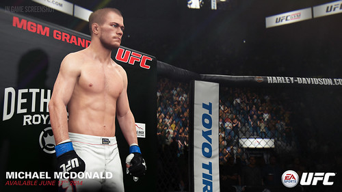 EA SPORTS UFC - Michael MacDonald | by easports_ufc