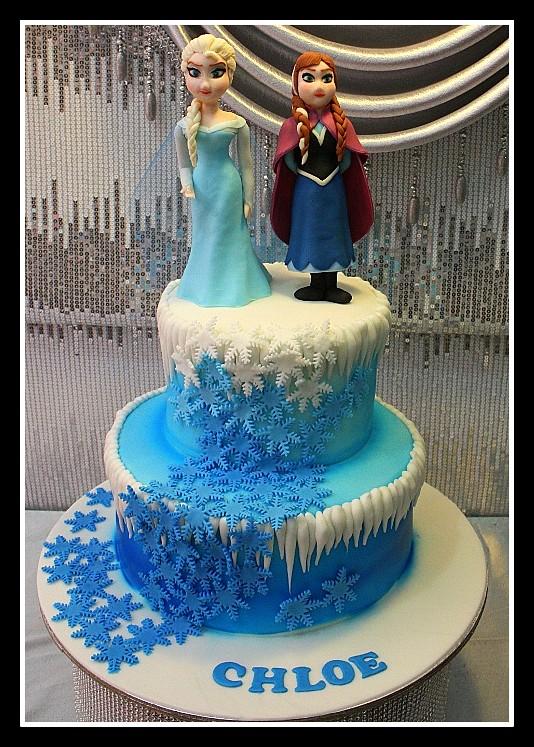 Frozen Cake Design In Goldilocks Dmost for