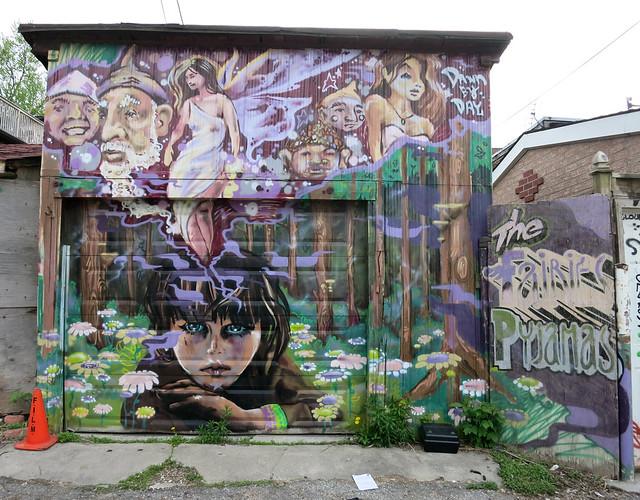 Kensington fairy mural explore wiredforlego 39 s photos on for Fairy garden mural