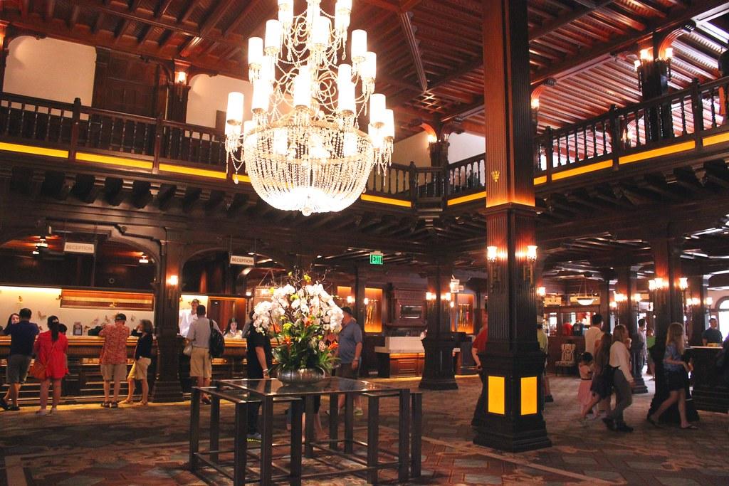 Hotel Del Lobby | Hotel Del Coronado, San Diego ...