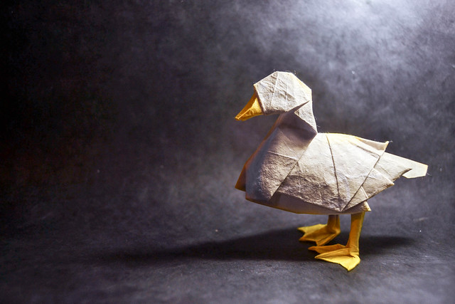 Origami Duck - Katsuta Kyohei