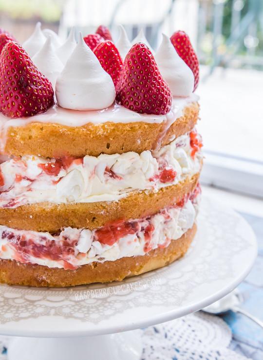 Eton Mess Birthday Cake
