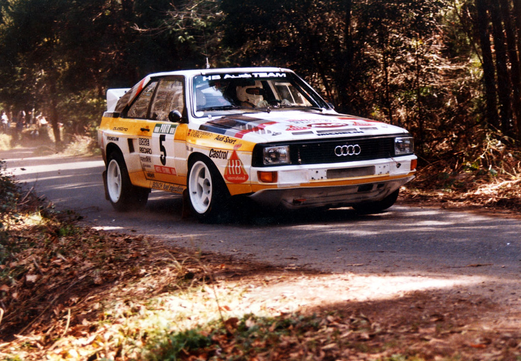 Audi Sport Quattro Of Walter Rohrl At 1985 Rally Portugal
