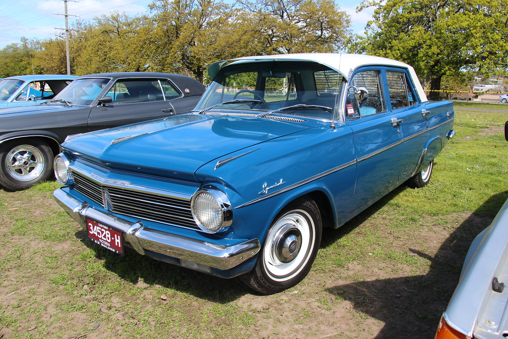 1964 Holden Eh Special Sedan Eden Blue With A Atherton