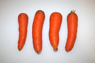 16 - Zutat Möhren / Ingredient carrots