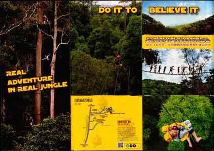 Brochure Dragon Flight Zipline Chiang Mai Thailand 2