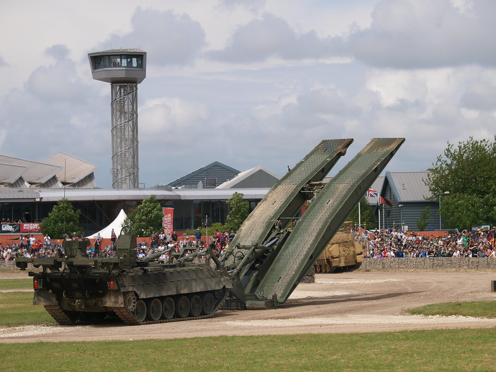 How titan armoured vehicle launch bridge