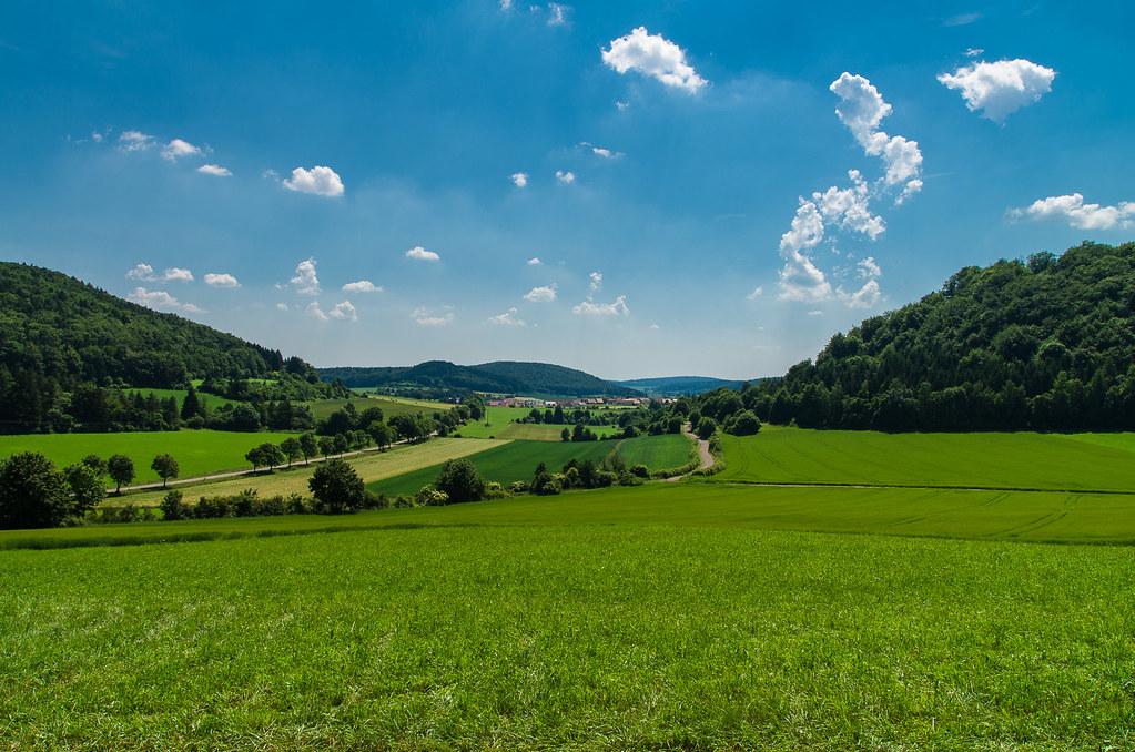 Landschaft bei Velburg, Bayern Mittelfranken | Landschaft ...