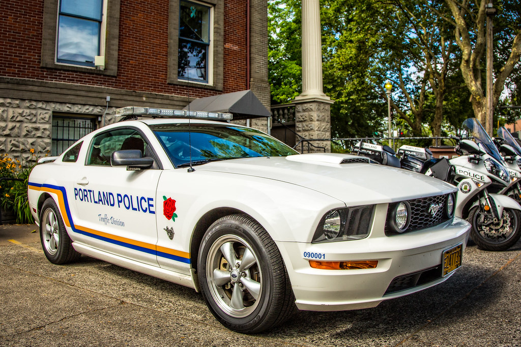 Portland Police 2009 Mustang Gt Sweet Ride I Asked The