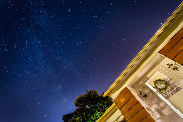Milky Way Over the Homestead