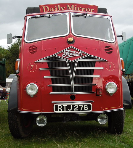 Daily Mirror Foden FG6/12 dropside - 1953 | Flickr - Photo ...