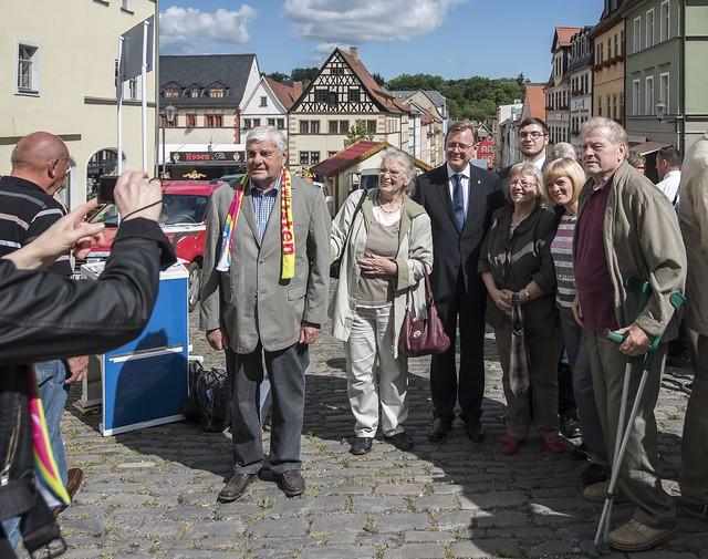 Thüringentag 2015 in Pößneck (Foto: TSK/ U. Koch)