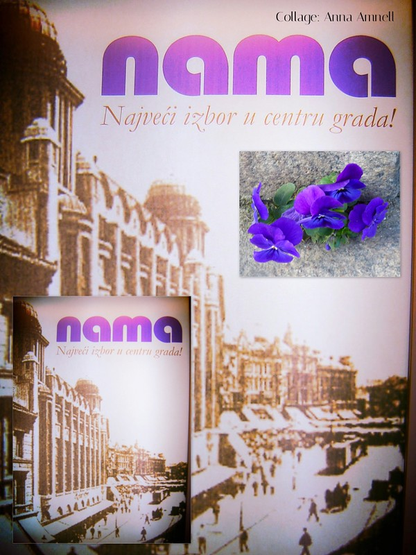 Nama, a collage by Anna Amnell