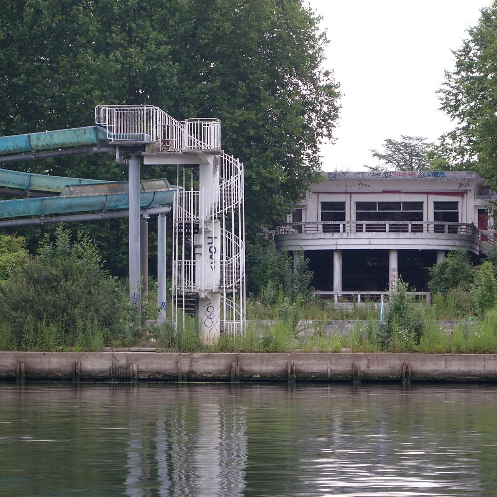 M dan yvelines france les quais de seine vue sur la flickr - Piscine plage paris asnieres sur seine ...
