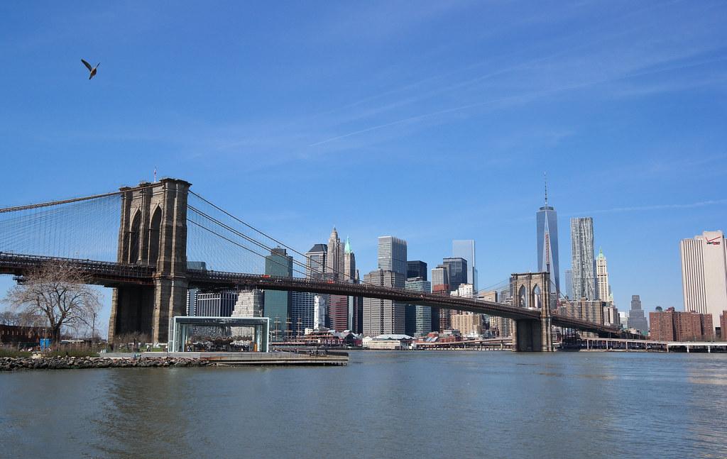 Blue Skies over New Yo...