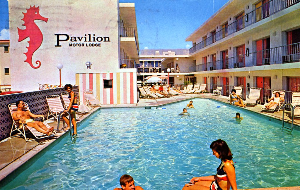 Pavilion Motor Lodge Ocean City Nj 8th Street And Atlantic Flickr