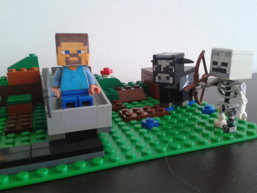 Lego Minecraft MOC right | Alexander Appelhanz | Flickr