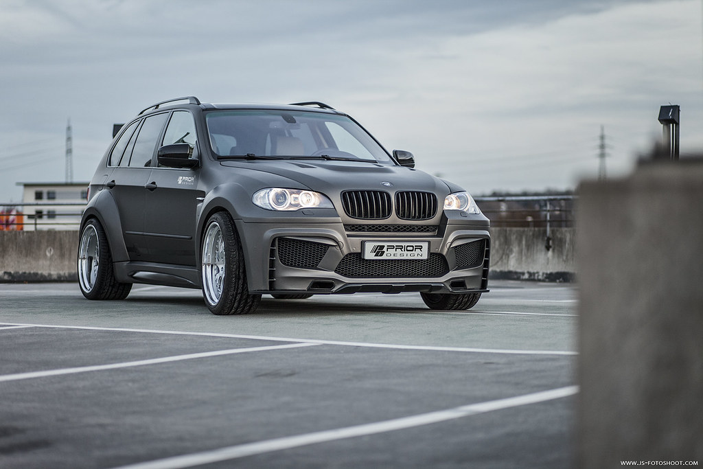 Prior Design Bmw X5 E70 Wide Body Aerodynamic Kit Suv Flickr