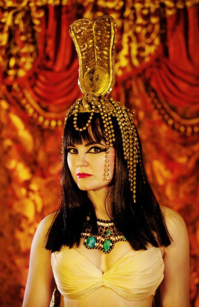 Cleopatra Make Up Image Courtesy Tanna Valentine Www