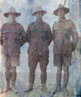 W McNatty, G Sutton, ASM after Gallipoli evacuation
