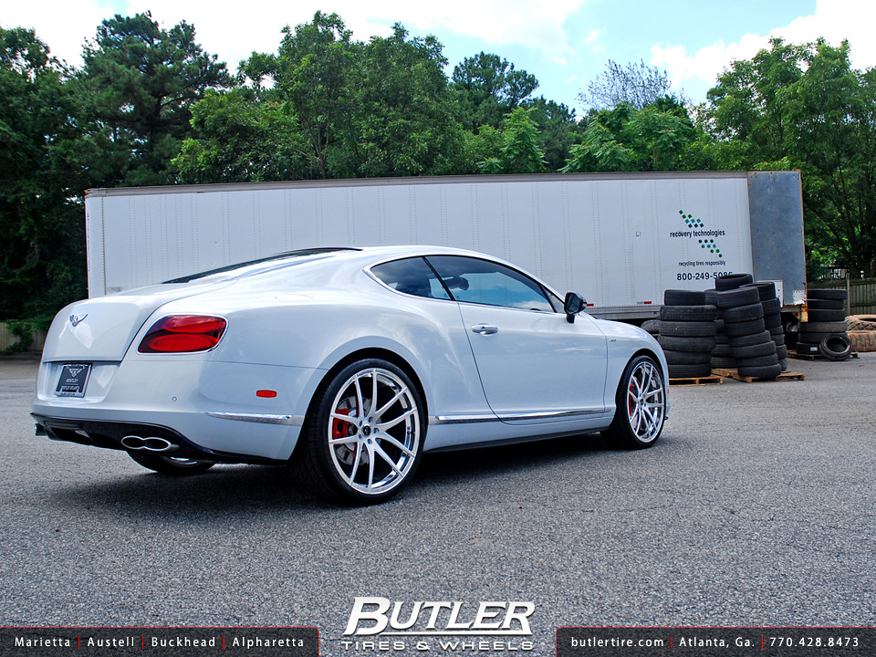 Bentley Gt V8s With 22in Savini Sv40 Wheels Additional