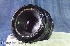 Chinon 50mm f/1.9 (Plastic ver)