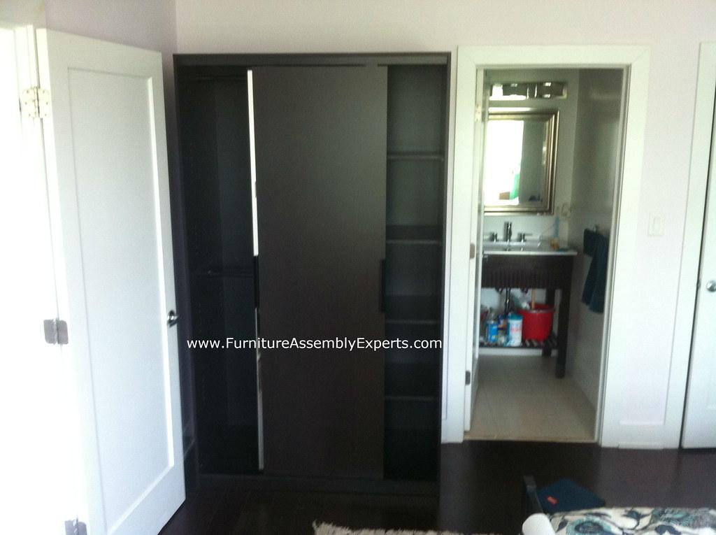 ikea morvik wardrobe assembly service in baltimore md flickr. Black Bedroom Furniture Sets. Home Design Ideas