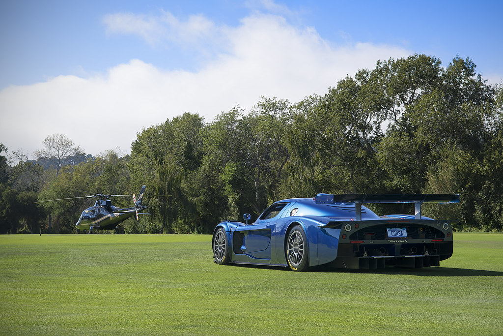 blue maserati mc12 corsa at the quail car week 2014 flickr. Black Bedroom Furniture Sets. Home Design Ideas