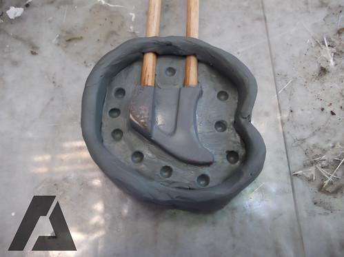 Preparacion del primer molde