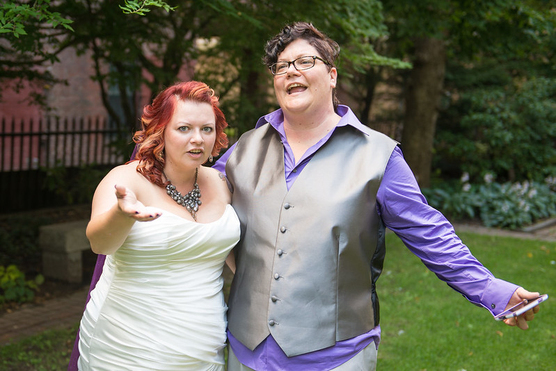 Tarot and caricatures travel-themed wedding from @offbeatbride