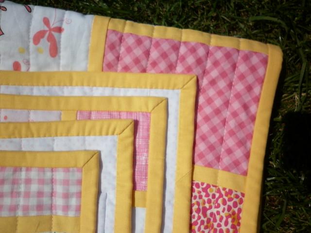 Fairy quilt corners