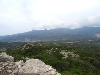 La Cagne depuis le sommet du Casteddu di Conca (Conti Pazzu)