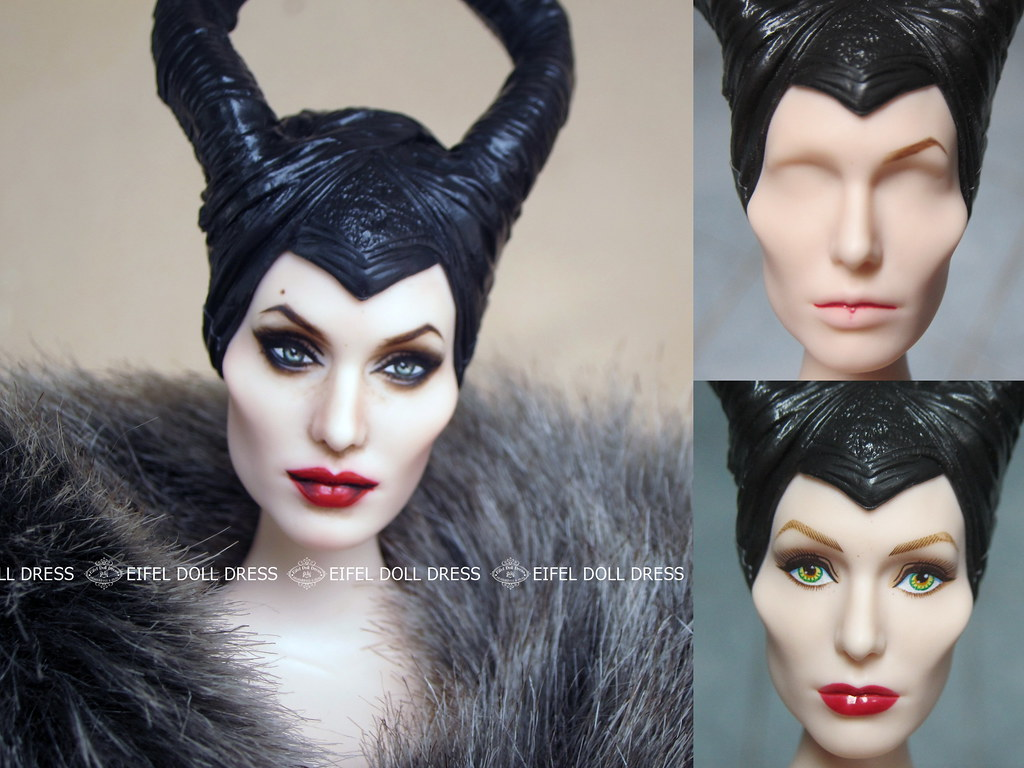 repainted maleficent and prince - photo #42